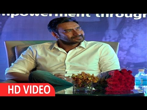 Education Is The Most Important Thing For Girl's : Ajay Devgan