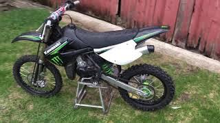 8. 2009 Kawasaki kx100 monster edition