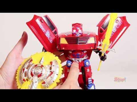 Robô x Carro - Robot Warriors - Zoop Toys | ZP00174