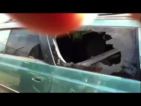 Autoscheibe ohne Kraft zerbrechen