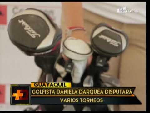 Golfista Daniela Darquea disputará varios torneos