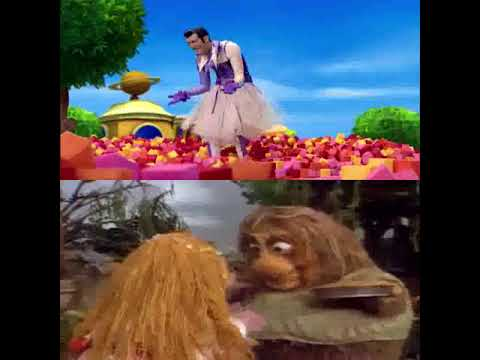 Lazytown and fraggle rock 2