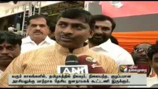 NDA would be an important alternative in Tamilnadu says BJP leader Muralidhar Rao