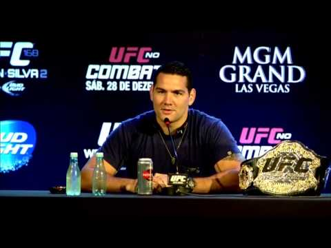 UFC World Tour: Weidman vs. Silva 2 Brazil Press Conference