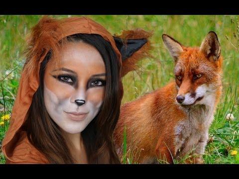Fox Halloween Makeup Tutorial!