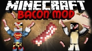 Epic Meal Time Mod: Minecraft Bacon Mod Showcase