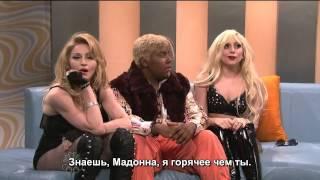 Madonna and lady gaga on snl