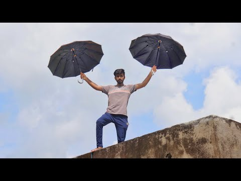Jumping From Roof with Umbrella (Parachute) - Will it Save Me ?