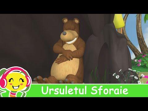 Ursuletul Sforaie - CanteceGradinita.ro - muzica pentru copii