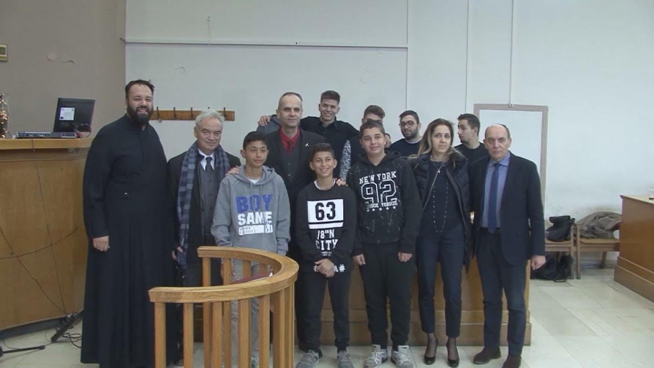 Φωνές παιδιών ρομά «πλημμύρισαν» σήμερα το Δικαστικό Μέγαρο Θεσσαλονίκης