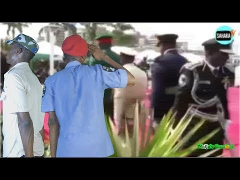 IGP Goofs Again At Parade Ground After Transmission Speech Fail - Hilarious Parody