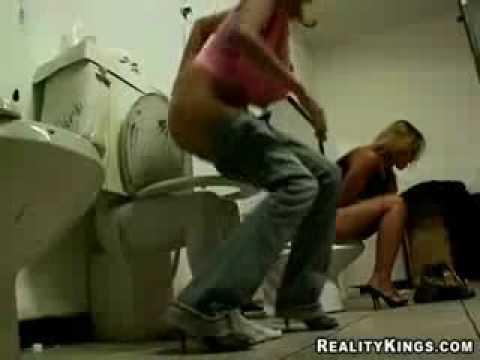 Bromas pesadas wc que susto