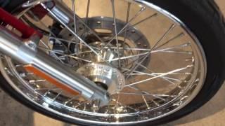 5. Harley Davidson XL883 Custom Sportster