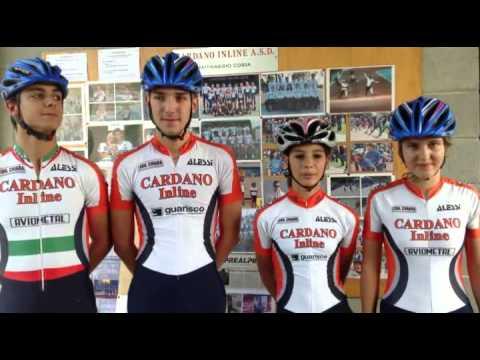Gli atleti della Cardano Inline