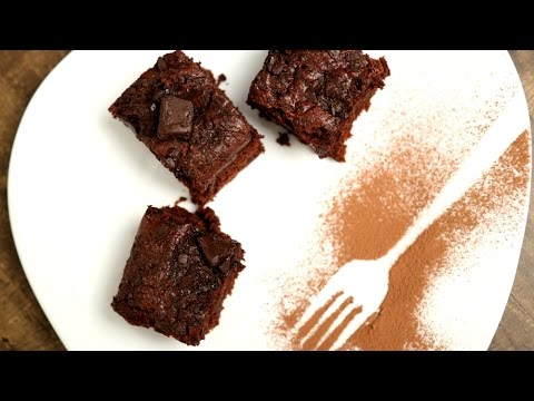 Ragi & Oats Brownies | Healthy Chocolate Brownie Recipe | Beat Batter Bake With Upasana