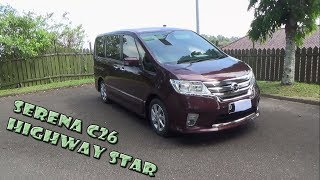 Review Nissan Serena Highway Star C26 Tahun 2013