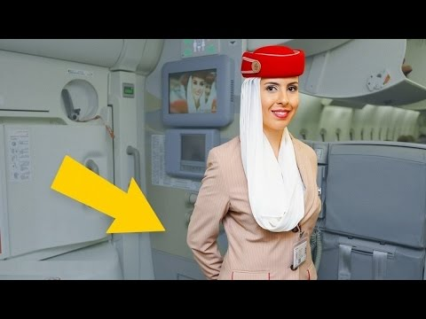 العرب اليوم - شاهد: لماذا تضع مظيفة الطيران يدها خلف ظهرها