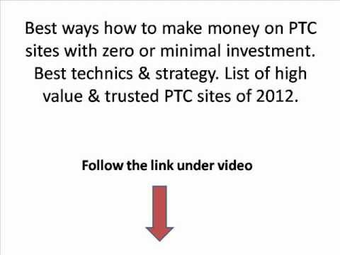 Make money with PTC sites 2012 !
