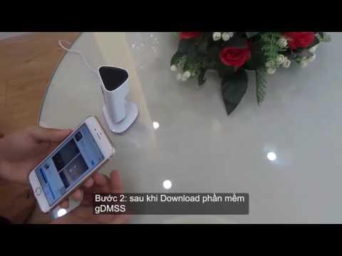 3 bước kết nối camera wifi Dahua IPC-C15 với smartphone 2016
