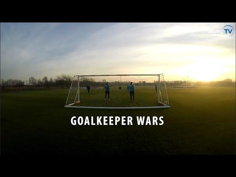Video: Newcastle United 'Goalkeeper Wars'