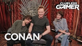 "CONAN Highlight: Conan does battle against House Lannister from ""Game of Thrones"" using the power of heavily armed gorillas ..."