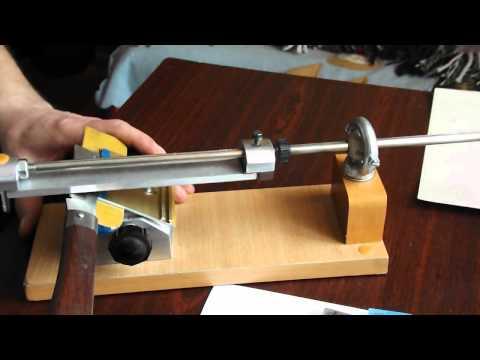 Точильный станок настольный для ножей своими руками