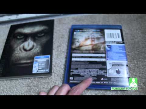 0 Unboxing Rise Of The Planet Of The Apes Blu Ray Combo