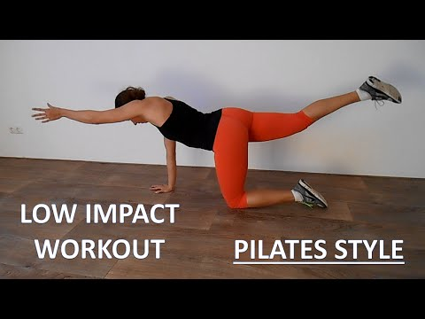 Low Impact Beginner Pilates Workout – 20 Minute Workout Toning Core and Legs