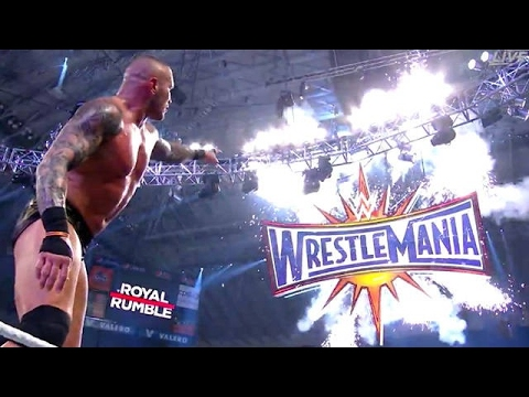 WWE Royal Rumble match 2017 highlights