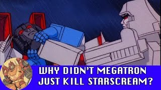 Video Why did Megatron keep Starscream around? MP3, 3GP, MP4, WEBM, AVI, FLV Juni 2018
