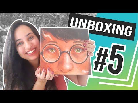 UNBOXING da Edição Comemorativa de 20 Anos de Harry Potter | Karina Nascimento | Paraíso dos Livros