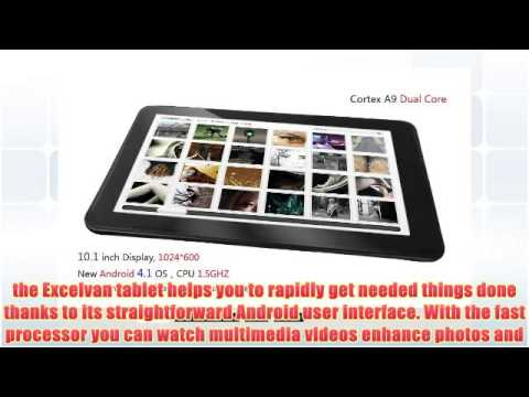 10.1 Excelvan ET1004 Android 4.1 Jelly Bean Dual Core 1.5Ghz 8GB Cortex A9 OTG Capacitive Tablet