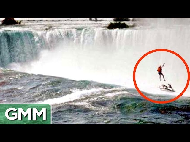 Good Mythical Morning In Spanish : Unbelievable niagara falls survival stories