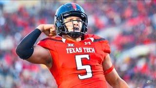 The Texas Gunslinger    Texas Tech QB Patrick Mahomes 2016 Highlights ᴴᴰ
