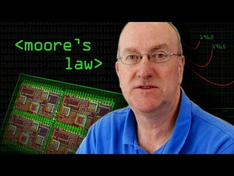 moore - Moore's Law has held true for 40 years, but many say it will soon end - Can chip designers avoid the laws of physics? Professor Derek McAuley explains how ch...