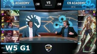 Video Team Liquid Academy vs Cloud 9 Academy | Week 5 NA Academy League Summer 2018 | TLA vs C9A MP3, 3GP, MP4, WEBM, AVI, FLV Juli 2018