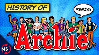 Watch Geoff's video reviewing The CW's Riverdale! ▶▶ https://youtu.be/M3qAnETjFIUSupport our videos on Patreon! ▶ http://www.patreon.com/NerdSyncArchie Comics is home to iconic characters like Jughead Jones, Betty Cooper, Veronica Lodge, and Archie Andrews himself. And with The CW wrapping up the season finale of the Riverdale tv show, let's take a look back at Archie Comics as a company to explain their bizarre origin and history that involves untimely deaths, toxic lawsuits, and an unlikely friendship that would take Archie and the Riverdale gang from the 1940s to the modern world!SUBSCRIBE for weekly comic book videos! ▶▶ http://nerdsyn.cc/_SUBSCRIBE_—————RELATED VIDEOS—————How Riverdale Betrays its Source Material▶ https://youtu.be/M3qAnETjFIUWhat is JUGHEAD'S HAT? - The Mind-Blowing Origin & History Explained! 🍔▶ https://www.youtube.com/watch?v=BbUuxchyjQwOrigin of The PUNISHER Skull Logo!▶ https://www.youtube.com/watch?v=u9o6BHt7Goo————ABOUT NERDSYNC————Comic books are an incredible medium filled with the amazing adventures of fantastic superheroes, but they are also much more than just stories on a page. We here at NerdSync see comics as a tool that can help teach us about the world we live in! Join us each week as we explore fascinating topics that range from science, history, philosophy, culture, and art, making complex ideas a little more accessible through the heroes and villains from Marvel, DC Comics, and more, you wonderful nerd!Hosted by Scott Niswander (@ScottNiswander)NERDSYNC SIDEKICK: Our second channel!▶▶ https://www.youtube.com/channel/UClYvcNvXVtOjAw4Ykq3lpKATWITTER: http://nerdsyn.cc/followNSFACEBOOK: http://nerdsyn.cc/likeNSSUBREDDIT: https://www.reddit.com/r/NerdSync/———————SOURCES———————Twelve-Cent Archie - Bart Beatyhttps://goo.gl/sV2yVh Archie and Betty and Veronica and Zombieshttp://www.vulture.com/2017/01/archie-riverdale-cw-c-v-r.htmlThe evolution of Archie Comics: updating the Riverdale gang for the 21st centuryhttp://www.vox.com/cult