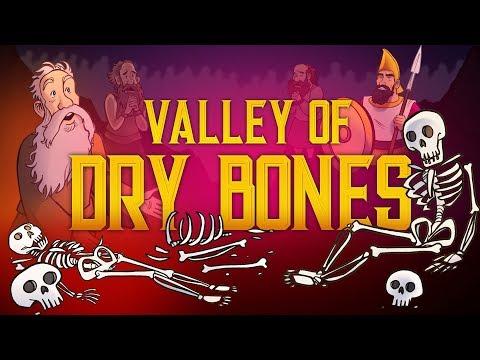 Valley of Dry Bones - Ezekiel 37 | Halloween Bible Story & Sunday School Lesson For Kids | HD