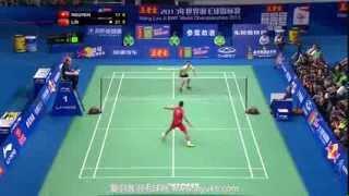Download Video Lin Dan vs NGUYEN Tien Minh - 2013 BWF World Championships Mens semifinals MP3 3GP MP4