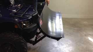 8. WARN PRO VANTAGE ATV PLOW SYSTEM