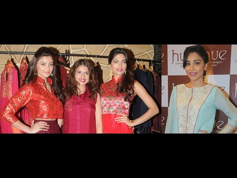 Daisy Shah And Amrita Puri At Hue Store Winter Festive 2014 Preview