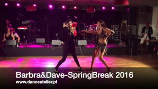 Barbra&Dave at Warsaw Salsa Spring Break 2016