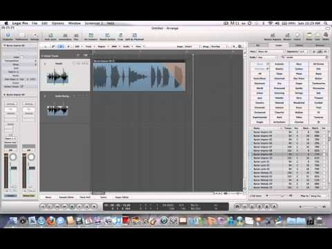 Logic pro 9: Pitch Drops, and Speed Fades