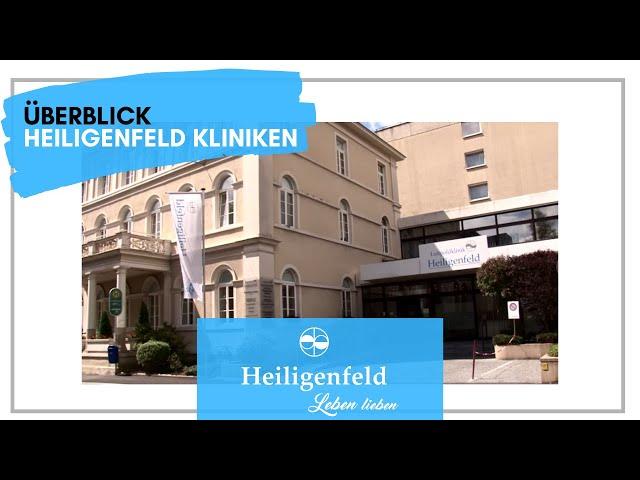Überblick über die Heiligenfeld Kliniken von Dr. Joachim Galuska