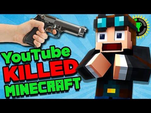 Game Theory: How Minecraft BROKE YouTube! (видео)