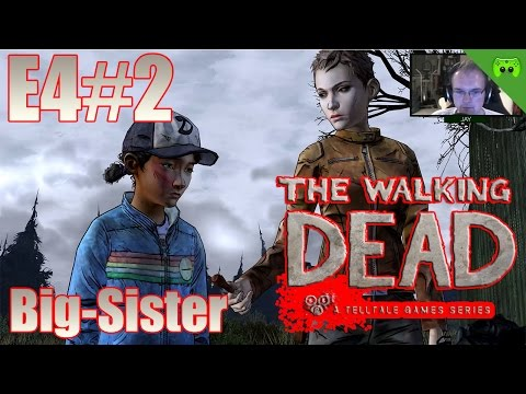 TWD S02E04 # 2 - Big-Sister «» Let's Play The Walking Dead Amid the ruins | HD