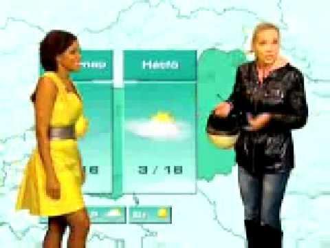 TV2 weather forecast blooper.{Look alongside!}(Hungarian language)