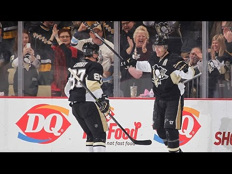 Video: Malkin barrels into Anderson to score breakaway beauty