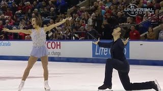 Duhamel And Radford Lead In 2014 Skate Canada - Universal Sports