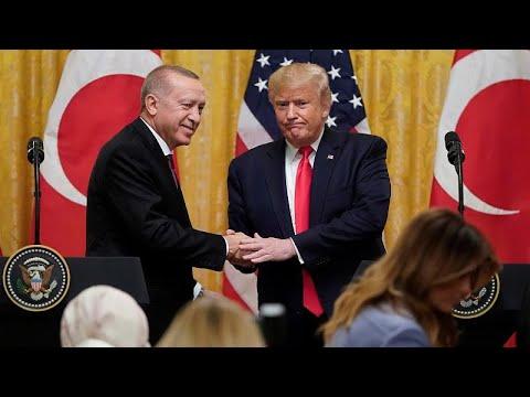 Τραμπ: «Ειλικρινείς συνομιλίες με Ερντογάν – Είμαι μεγάλος οπαδός του»…